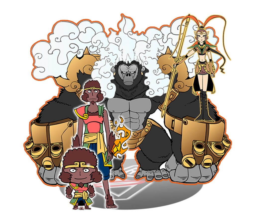 Monkey god evolution and possible forms