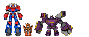 Robots in variety sizes