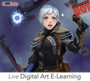 E learning digital arts workshop